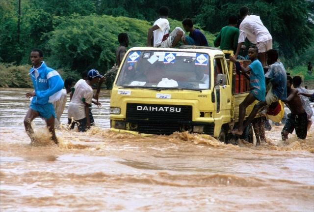 Inondation à Djibouti @Flickr